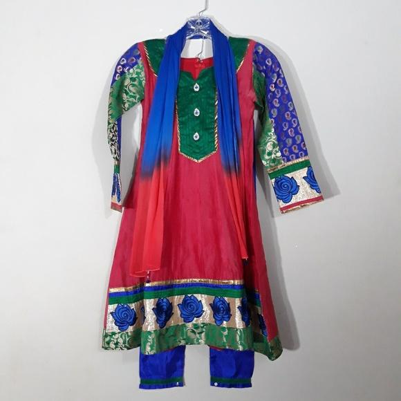 Salwar Kameez Other - Indian Suit Salwar Punjabi Pants Dupatti scarf 30